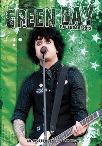 Green Day 2012 - nástěnný kalendář