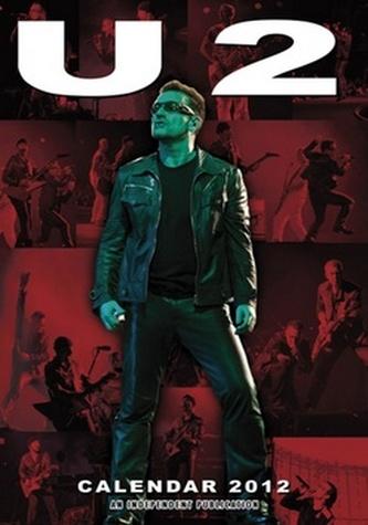 U2 2012 - nástěnný kalendář