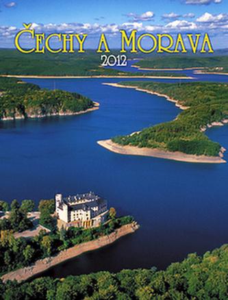 Čechy a Morava - nástěnný kalendář 2012