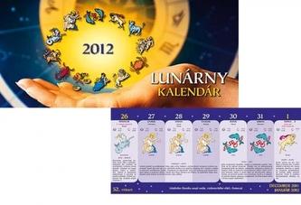 Lunární kalendář - stolní kalendář 2012
