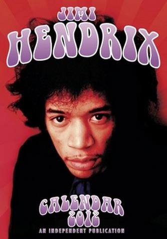 Jimi Hendrix 2012 - nástěnný kalendář