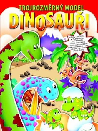 Dinosauři trojrozměrný model