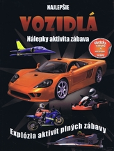 Kniha plná automobilů, letadel a strojů