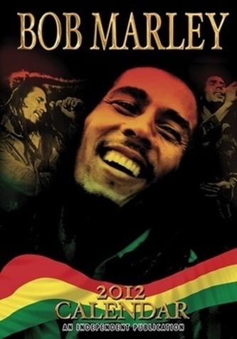 Bob Marley 2012 - nástěnné kalendáře