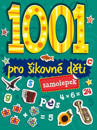 1001 samolepek Pro šikovné děti