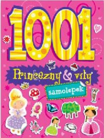 1001 samolepek Princezny a víly