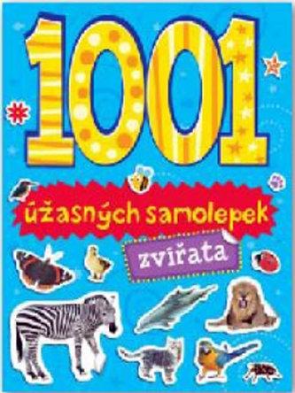 1001 úžasných samolepek Zvířata