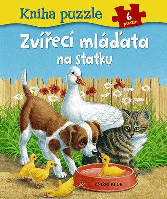 Kniha puzzle: Zvířecí mláďata na statku