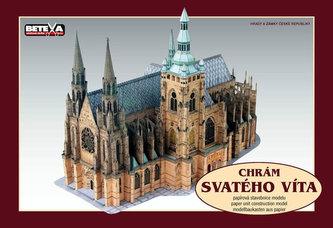 Chrám Svatého Víta - vystřihovánky