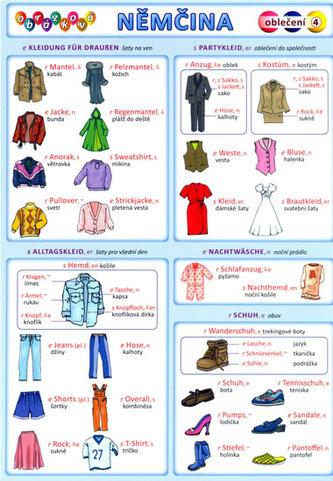 Obrázková němčina 4 - Oblečení - Kupka Petr a kolektiv