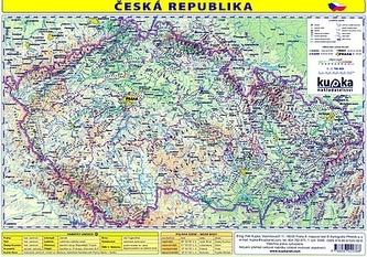 Česká republika - mapa A4 lamino - Jiří Kupka