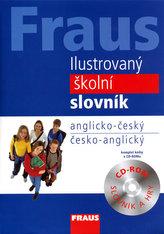 Fraus Ilustrovaný školní slovník AČ-ČA + CD-ROM
