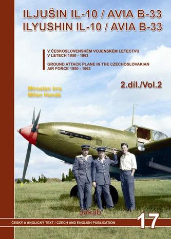 Iljušin Il-10 / Avia B-33  v Čs. vojenském letectvu v letech 1950-1963  (2.díl)