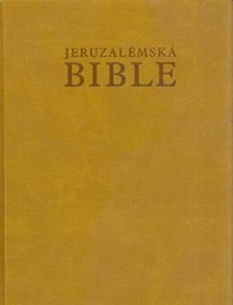 Jeruzalémská Bible (kožená vazba)