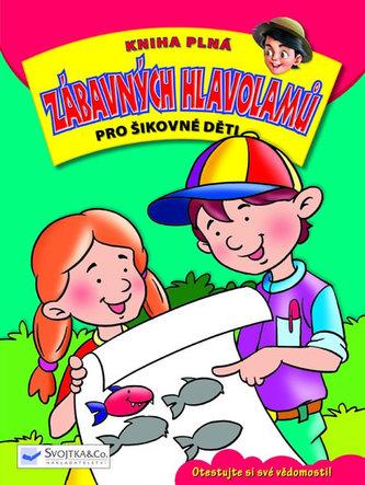 Kniha plná zábavných hlavolamů pro šikovné děti