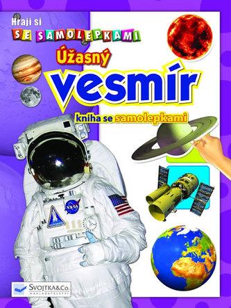 Úžasný vesmír - kniha se samolepkami