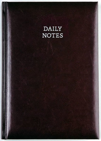 Daily Notes - New Karachi denní A5 - hnědá