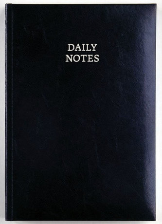 Daily Notes - New Karachi denní A5 - modrá