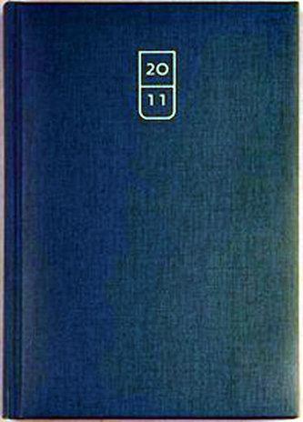 Diář 2011 Arizona týdenní A5 - modrá