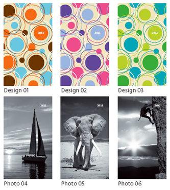 Diář 2011 kapesní - Genova čtrnáctidenní - design