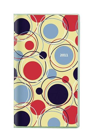 Diář 2011 kapesní - Genova měsíční - design 01