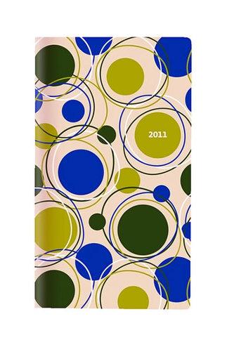 Diář 2011 kapesní - Genova měsíční - design 02