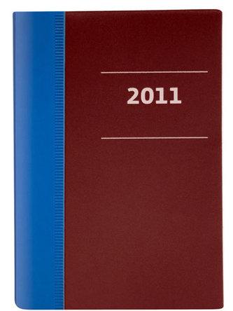 Diář 2011 kapesní - Milano měsíční - azure blue