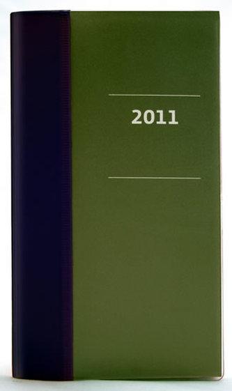 Diář 2011 kapesní - Milano měsíční - viola