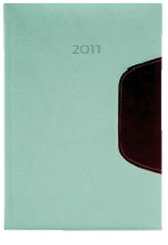 Diář 2011 Memphis denní A5 - slonová kost/červená