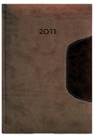 Diář 2011 Memphis týdenní A5 - béžová/světle hnědá