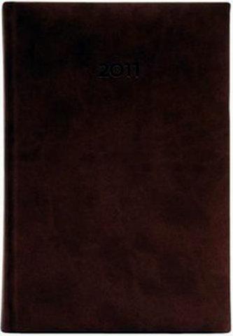 Diář 2011 Print týdenní A5 - angl.červená