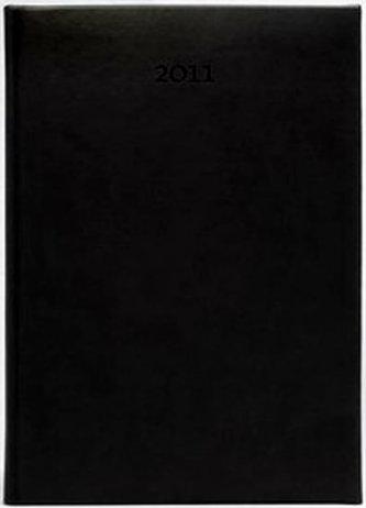 Diář 2011 Print týdenní B5 - černá