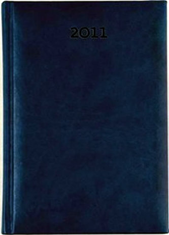 Diář 2011 Print týdenní B5 - modrá