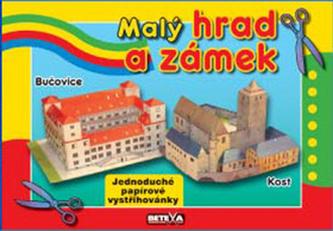 Malý hrad a zámek - Jednoduché papírové vystřihovánky