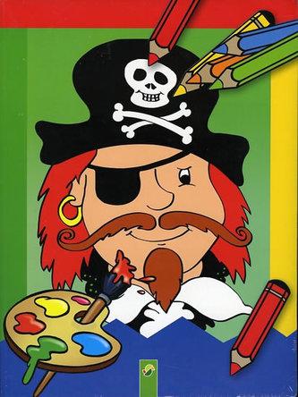 Rytíři a Piráti - Omalovánky (dvojbalení)