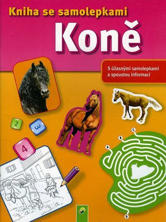 Koně - Kniha se samolepkami