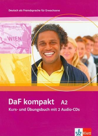 DaF kompakt A2 Kurs- und Ubungsbuch mit 2 Audio-CDs