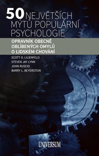 50 největších mýtů populární psychologie: Opravník obecně oblíbených omylů o lidském chování
