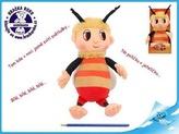 Včelí medvídek - Čmelda 29cm plyšový s písničkami