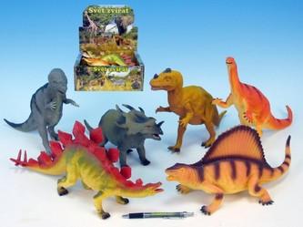 Dinosaurus 33-41cm 12druhů 6ks v DBX