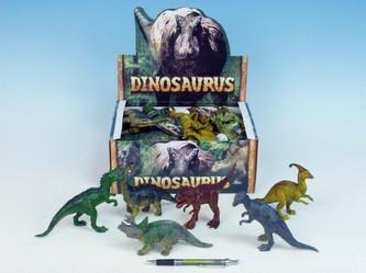 Dinosaurus 14-17cm 12druhů 24ks v DBX