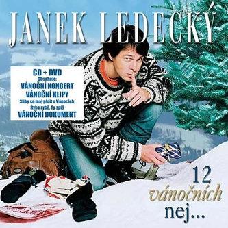 12 Vánočních nej ...CD+DVD