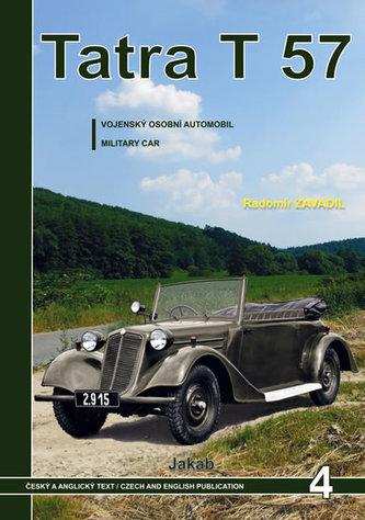 Tatra 57 - Vojenský osobní automobil - Radomír Zavadil
