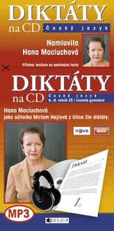 Diktáty na CD - Český jazyk
