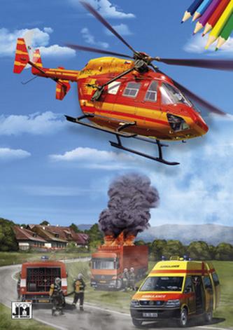 Záchranáři - Omalovánky A4