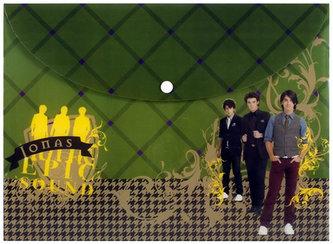 Jonas Brothers - Desky A4