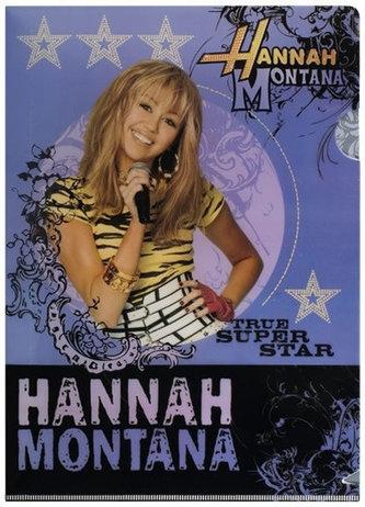 Hannah Montana - Zakládacií obal A4