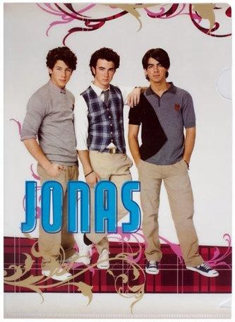 Jonas Brothers - Zakládacií obal A4