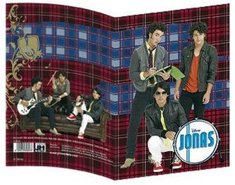 Jonas Brothers - Obal na sešit A5