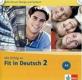 Mit Erfolg zu Fit in Deutsch 2 - CD